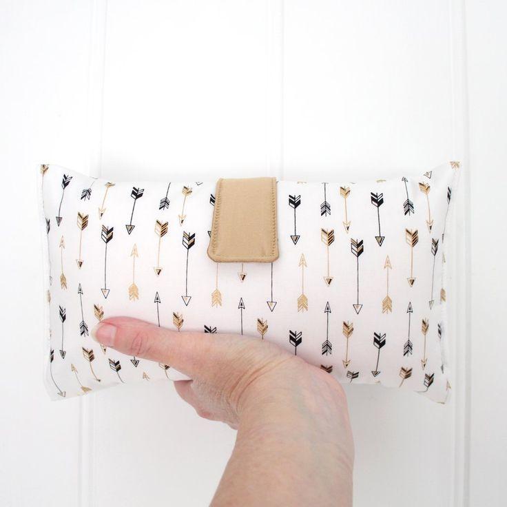 Nappy Wallet - Luxe Gold Arrows
