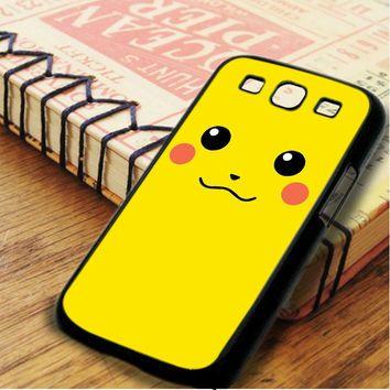 Pikachu Pokemon Character Samsung Galaxy S3 Case