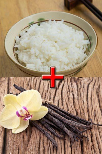 Basmati rice and vanilla! Mmmm!