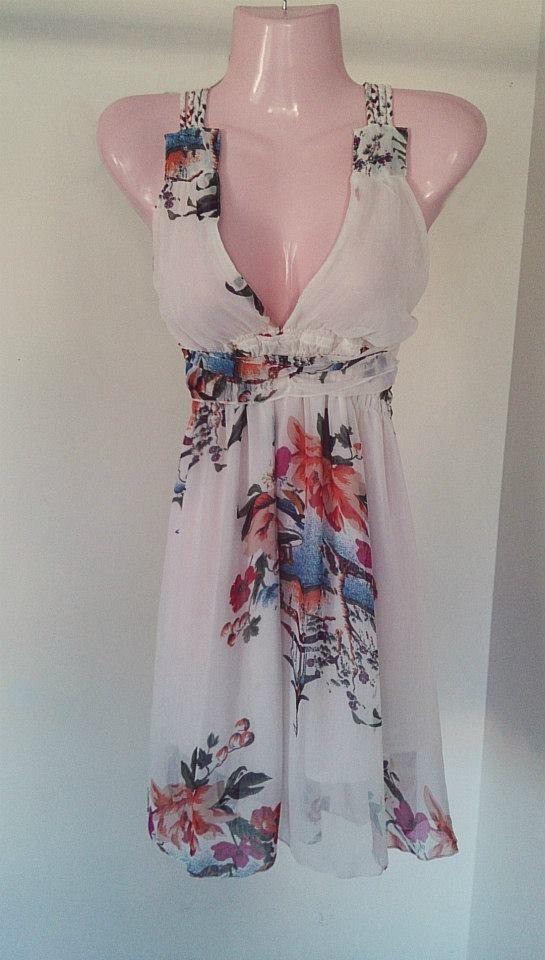 The Floral spring dress