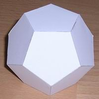 """Want  to make 3-D geometric shapes? This site offers PDF files for easy """"cut and make"""""""