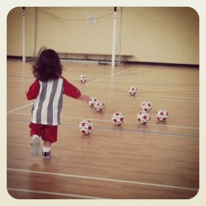 Little Kickers football for kids -can't recommend highly enough!