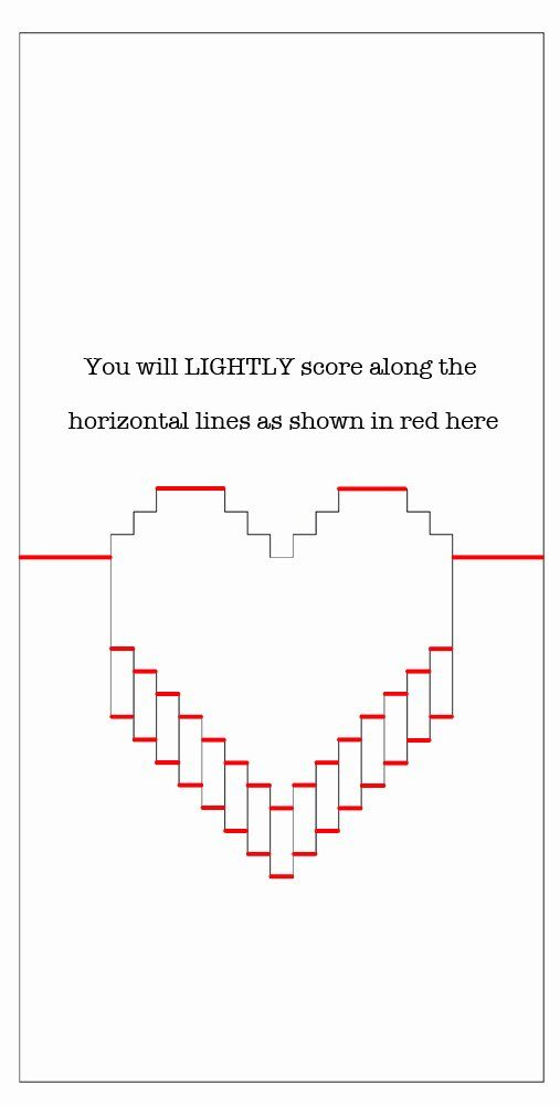 Pop Up Card Template Awesome Omg It S A Super Easy Valentine Pop Up Card Diy Heart Pop Up Card Pop Up Card Templates Pop Up Cards