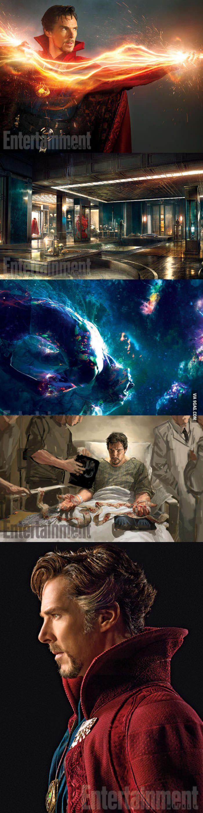 New photos from Marvel's Doctor Strange! AGDFSIDFJASDFJ