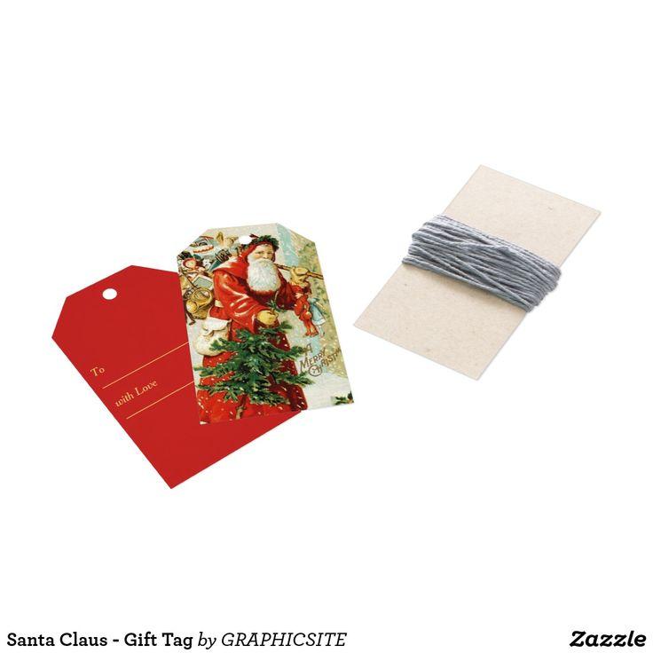 Santa Claus - Gift Tag
