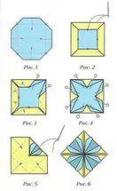 Оригами тату эскиз.