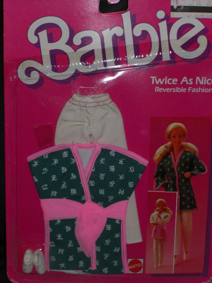 1985 Barbie Twice as Nice Reversible Active Wear Fashion 2295   eBay