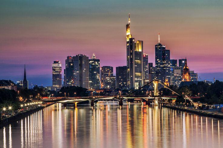 Overjoyed  Sunset in Frankfurt am Main.