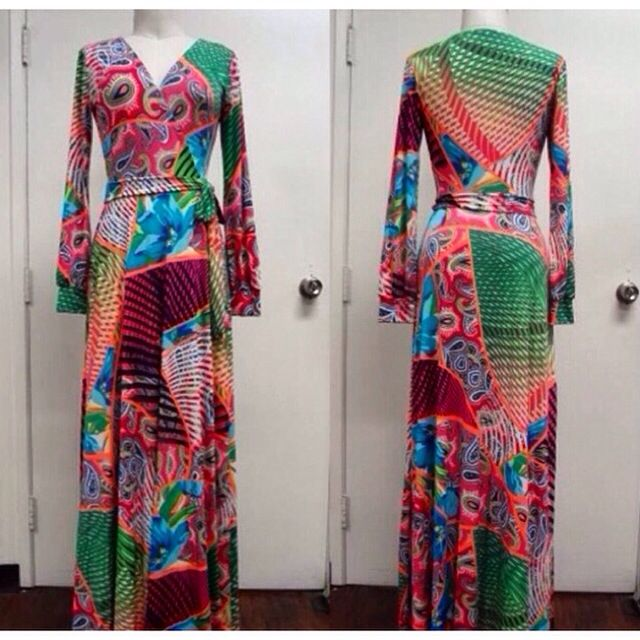 Plus Collection Maxi Dress