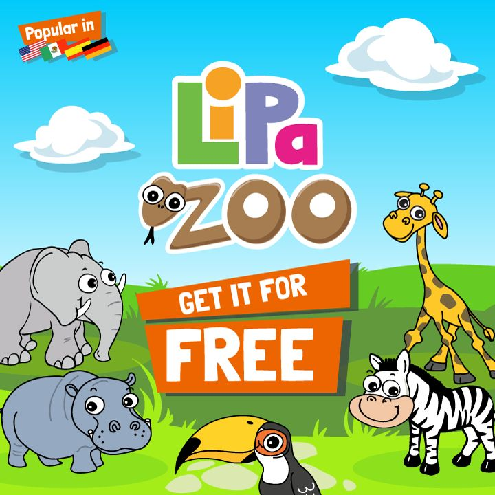 Calling all animal lovers - Lipa Zoo is FREE for a limited time! Share with your friends and download on the App Store now!   https://itunes.apple.com/app/lipa-zoo/id706099116?ls=1&mt=8  #freeapp #animals #kids #education