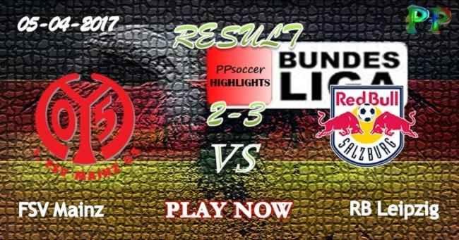 FSV Mainz 2 - 3 RB Leipzig HIGHLIGHTS 05.04.2017   PPsoccer