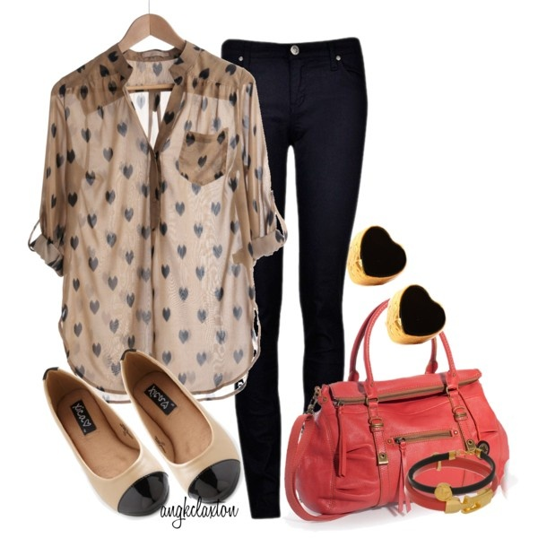 Hearts: Woman Fashion, Casual Friday, Black Skinny, Fashiondesign, Fashion Design, Cute Outfits, Outfits Ideas, Work Outfits, Spring Outfits