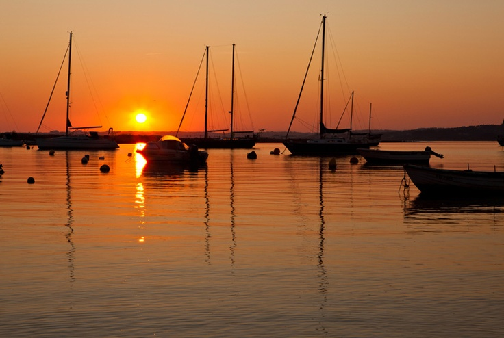 Sunset (Solnedgang), Alvor, Algarve, Portugal