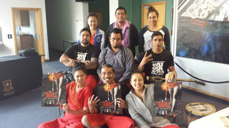 Waikato University Telesa fans