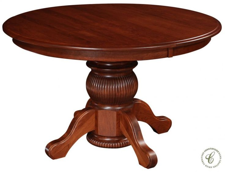 Rich In Heritage And Culture Ornate Queen Anne Furniture Styling Is Beautifully Displayed In Our Round Pedestal Dining Tableextendable