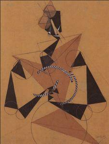 Henri Laurens - Le Clown, 1916. Cubisme.
