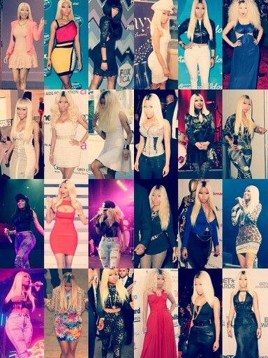 Nicki minaj outfits of 2013