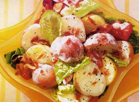BLT Potato Salad  www.facebook.com/...