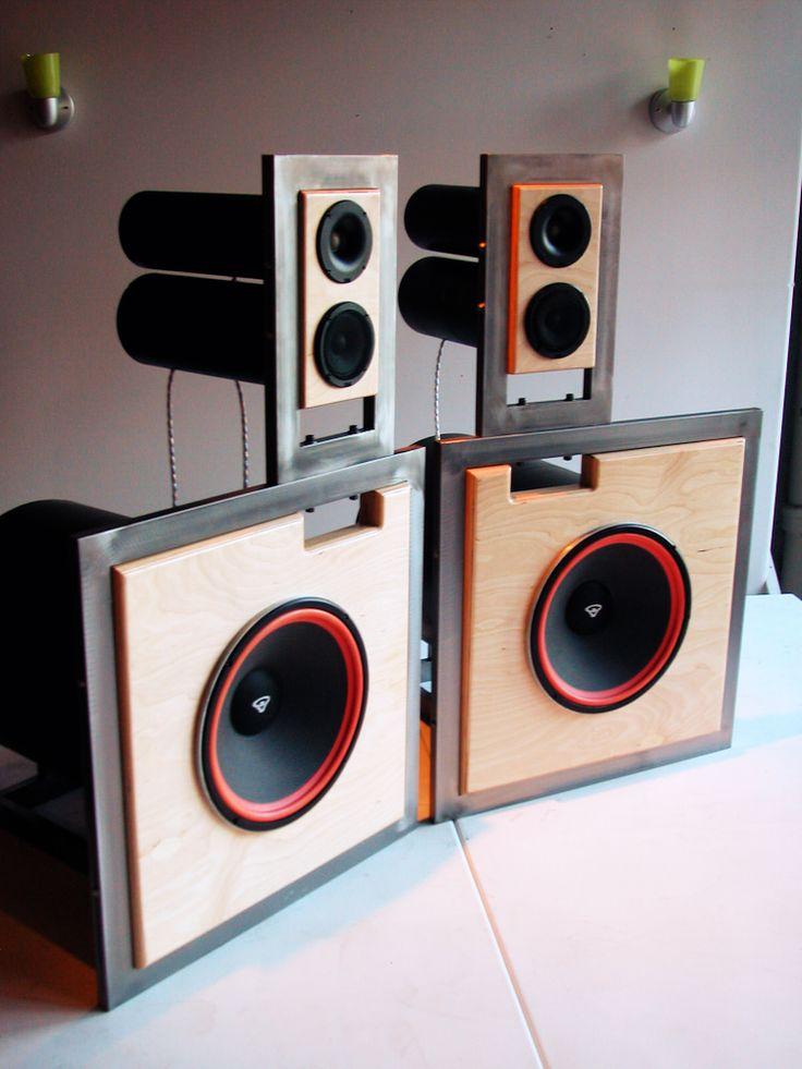 ply-wood / speakers / steel