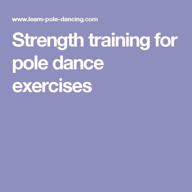 Strength training for pole dance exercises