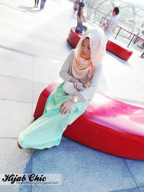 Hijab style by Fatin Atiqah | Hijab Chic