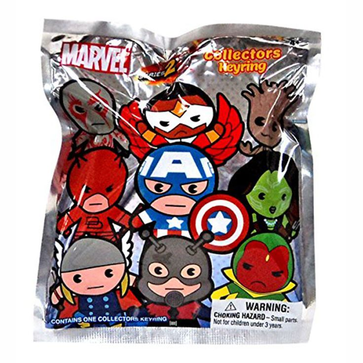 Marvel Series 2 Blind Bag Figure Keychain Products