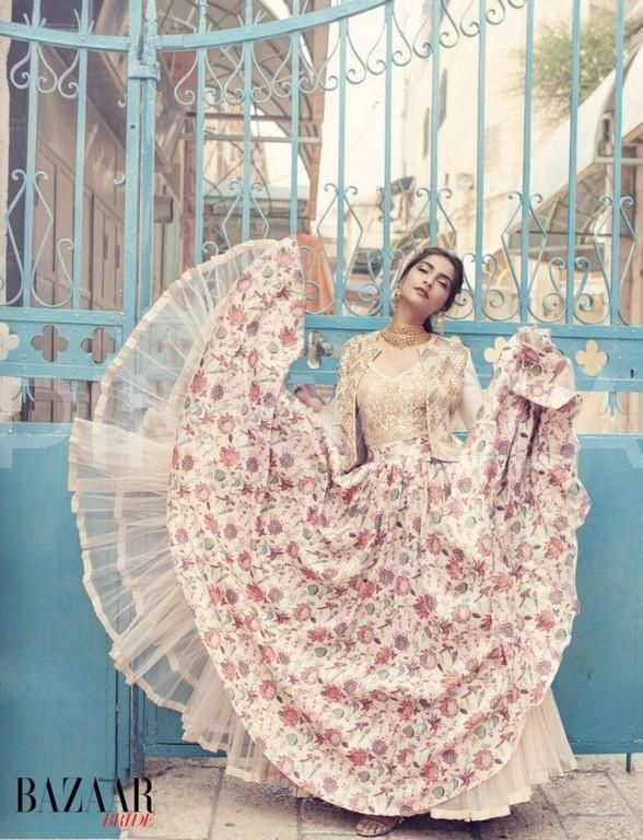 Gorgeous! Sonam Kapoor stuns in this Harper's Bazaar Bride photoshoot   PINKVILLA