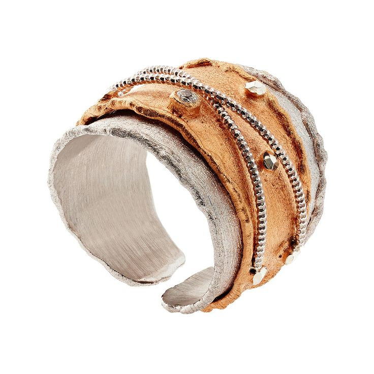 Oxette Rose Gold Silver 925 Ring - Available here http://www.oxette.gr/kosmimata/daktulidia/ster.silv.rosegold-pl.ring-with-cz-oxette-638l-1/   #oxette #OXETTEring #jewellery