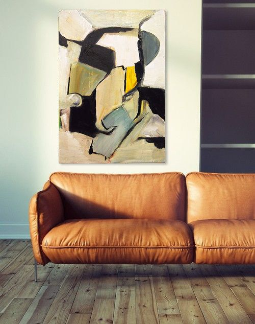 Abstract painting Natural Camuflage GianniTheArtist
