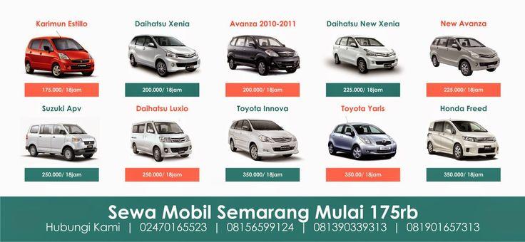 Sewa Mobil di Semarang Terpercaya
