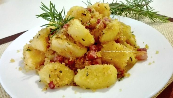 Patate Sabbiose con Pancetta - Cinquanta Sfumature in Padella