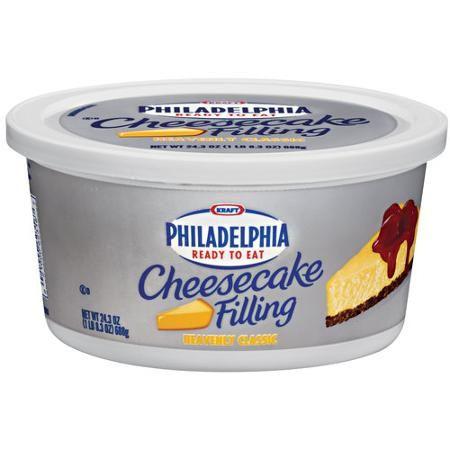 Kraft Philadelphia Ready To Eat Cheesecake Filling, 24.2 oz