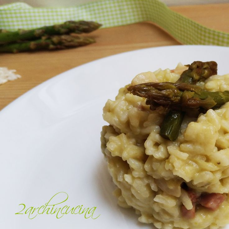 Risotto asparagi e speck, un piatto dagli antichi sapori