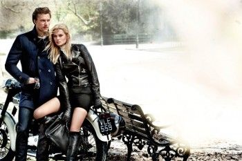 Toni Garrn Returns for Massimo Dutti's Fall 2013 Campaign by Mario Testino