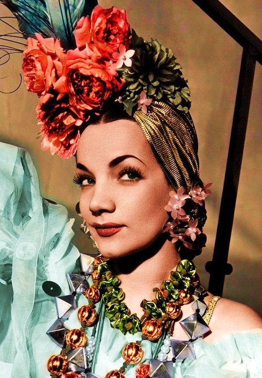 The Fabulous Birthday Blog: February 9—Happy Birthday Miss Carmen Miranda.