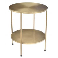 Benny Side Table Soft Brass   Bedside Tables   Ocassional Tables   Tables   Bedroom   Tables