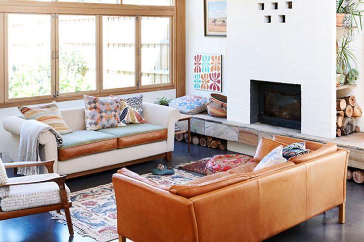 Kleurrijk huis in Melbourne vol houten elementen   Woonguide.nl