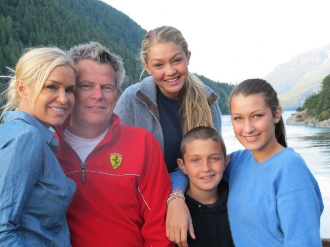 Hills yolanda and david foster with her kids gigi anwar and bella