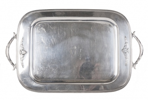 Silver-Plated Tray | MP1137