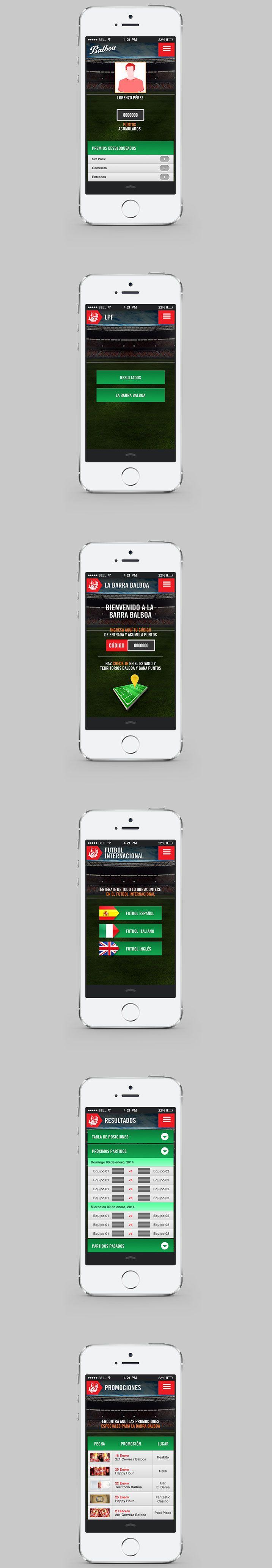 Balboa Soccer App