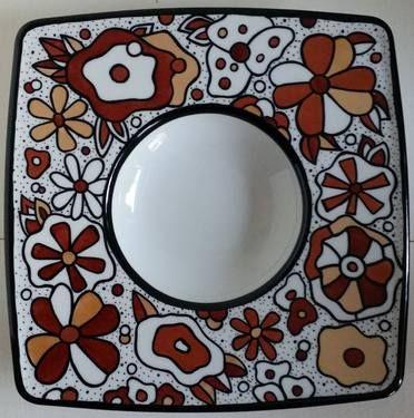 "Saatchi+Art+Artist+Sanna+Huusko;+Painting,+""Floral/Kukikas""+#art"