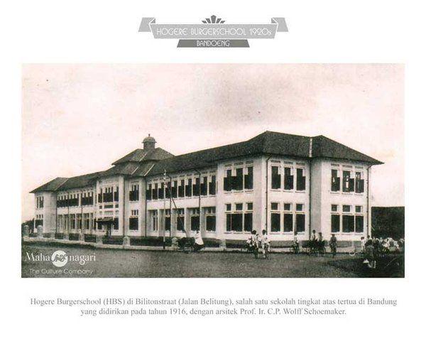 SMA Negeri 3 Bandung long time ago, my high school.