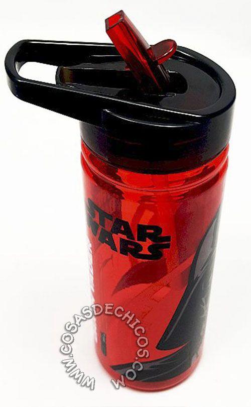 #Cantimplora #Grande @StarWars @DarthVader #StarWars #Darth #Vader #Licencia #Oficial #Disney  cierre anti-derrame. Tapa super práctica, para llevar colgando. #Dibujo impreso, con recubrimiento de laca para mayor durabilidad. Material flexible, resistente a los golpes y caídas. Gran capacidad: 580 cm3