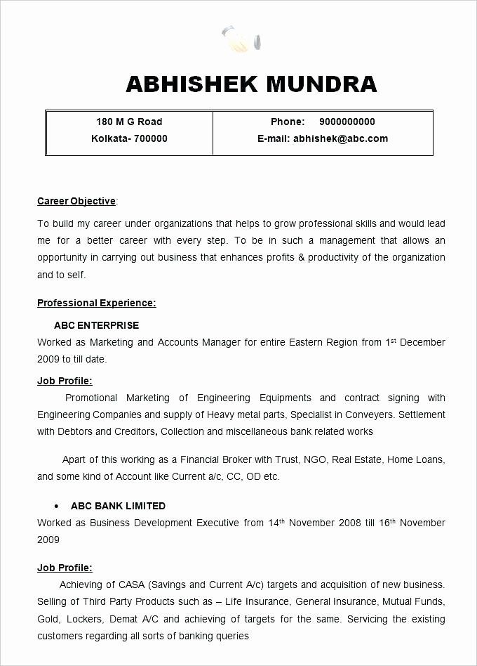70 elegant image of sample resume for staff nurse job resume