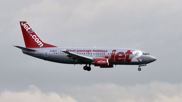 The motorway was shut near East Midlands Airport due to a Jet2 suspected malfunction, it is reported.