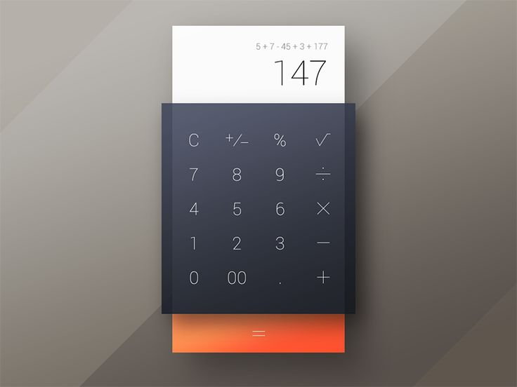 004 Calculator by Jaroslav Getman