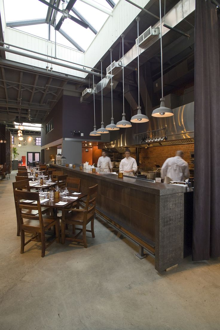 Restaurant Kitchen Lighting Interior Design
