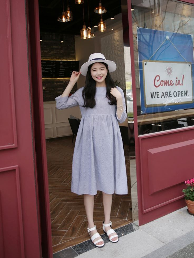 10's trendy style maker 66girls.us! High Waist Midi Dress (DGUP) #66girls #kstyle #kfashion #koreanfashion #girlsfashion #teenagegirls #fashionablegirls #dailyoutfit #trendylook #globalshopping