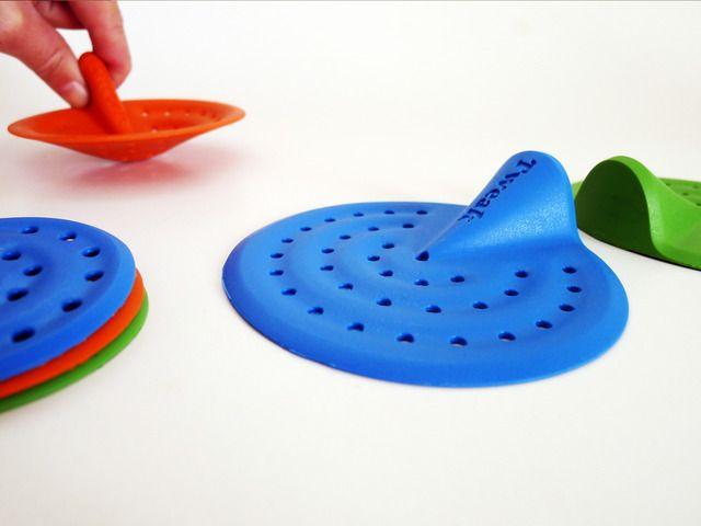 TWEAK by Nitzan Shafat & Aviv Rozenfeld — Kickstarter.  Dispose all waste from sink and bathtub, without touching it.