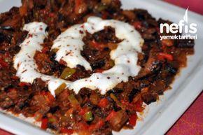 Kuru Patlıcan Salatası Tarifi